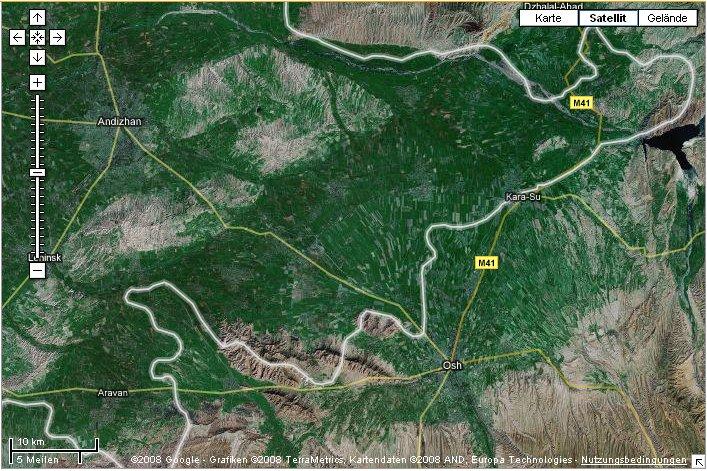 Karte von Kara Suu