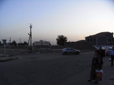 Dushanbe nochmaliger Blick auf den Präsidentenpalast