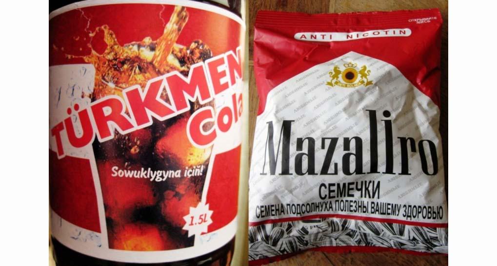 Turkmen Cola und Mazaliro