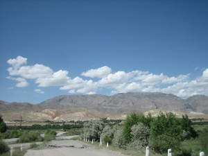 2011_view on Garibak village_tajikistan