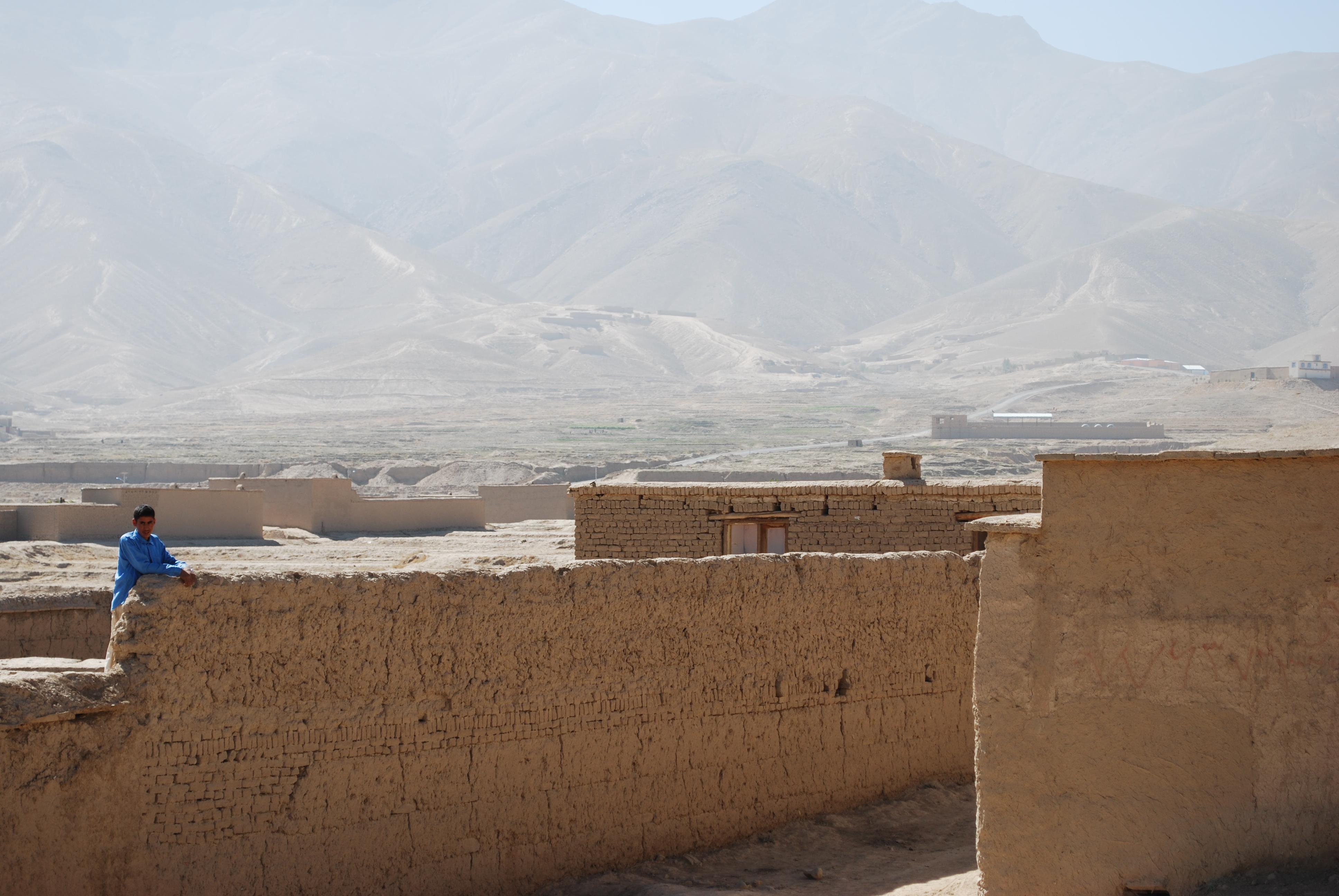 Am Rande der Dasht-e Barchi im Westen Kabuls