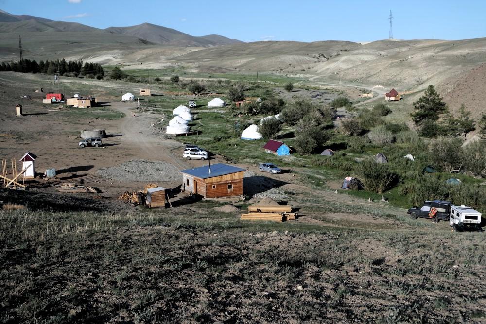 Jurten-Camp im Altaj, der neue Trend