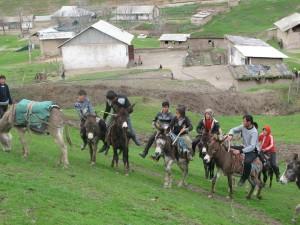 Eselsreiterkampf der Dorfjugend