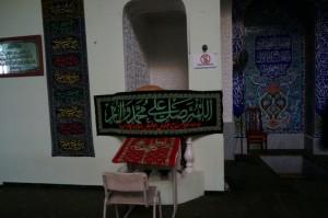 """Im Gebetsraum der """"Familie des Propheten"""" Moschee in Samarkand. (M. Hosseinipour 2015)"""