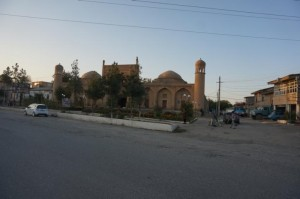 Masdschid-e Pandschab - ehemaliges Kulturzentrum der Iraner in Samarkand. (M. Hosseinipour 2015)