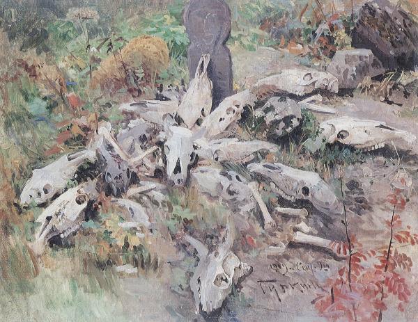 Opferstätte, Choros Gurkin 1909