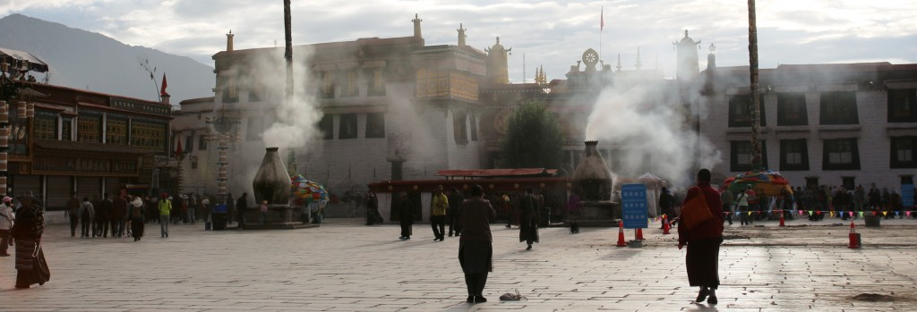 At the Jokhang